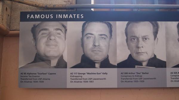 Prisonniers célèbres Alcatraz