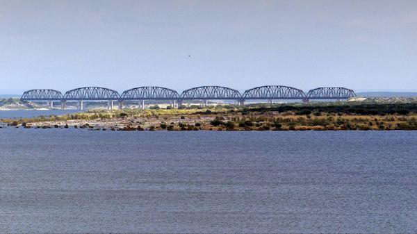 Northern Pacific Railroad Bridge Amistad NRA Texas