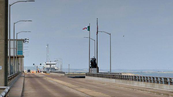 Frontière mexicaine barrage Amistad Texas