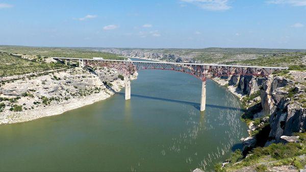 Pecos River High Bridge Amistad Texas
