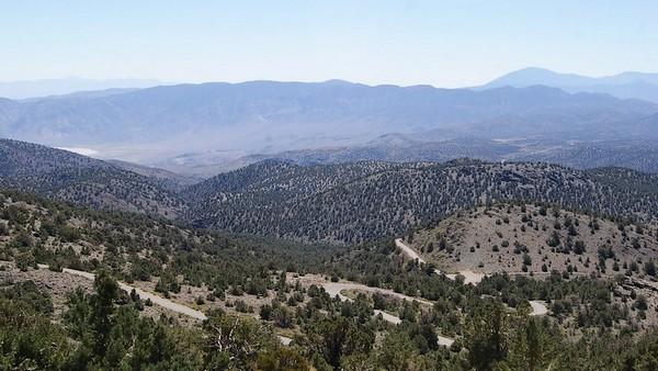 L'Owens Valley depuis la White Mountain Road