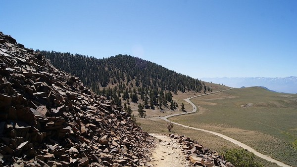 La White Mountain Road depuis Discovery Trail