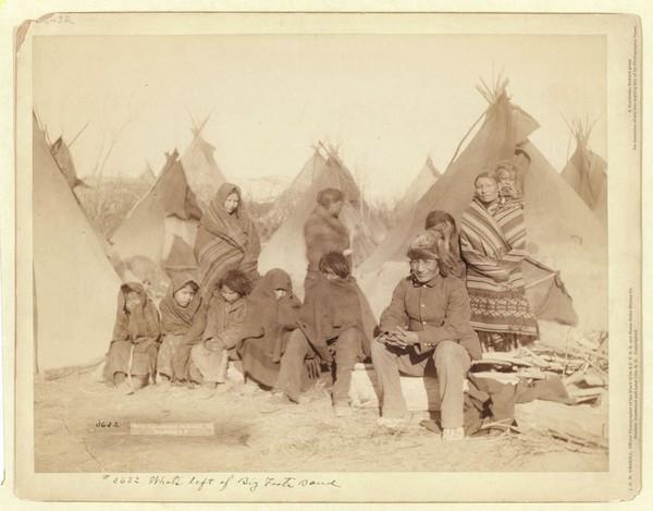 Survivants du massacre de Wounded Knee
