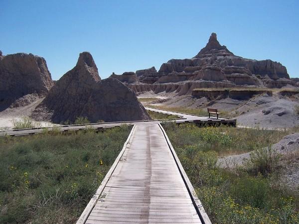 Door Trail Badlands NP