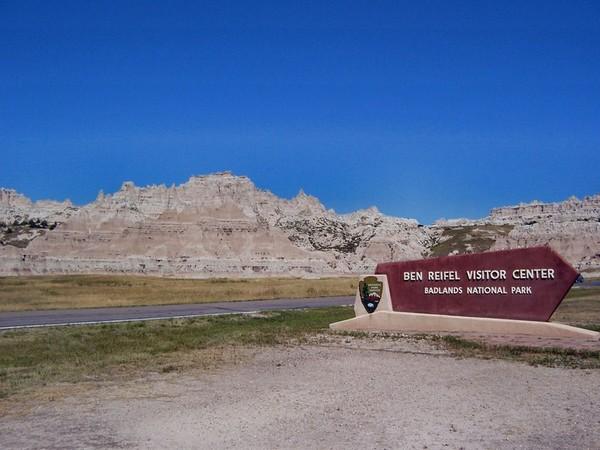 Entrée Badlands National Park