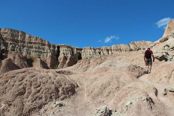 Saddle Pass Trail Badlands National Park