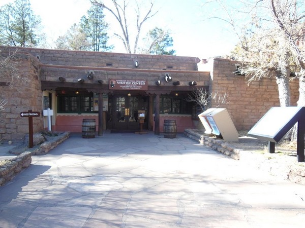Visitor Center Bandelier National Monument