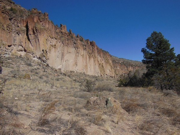 Canyon Frijoles Bandelier National Monument