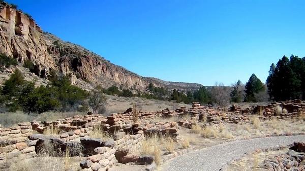 Tyuonyi Pueblo Bandelier National Monument