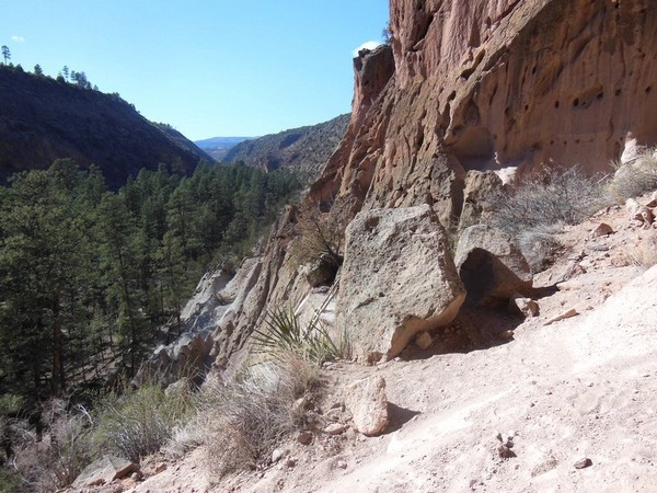 Panorama depuis House Cave Bandelier National Monument