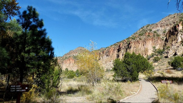 Main Loop Trail Bandelier National Monument