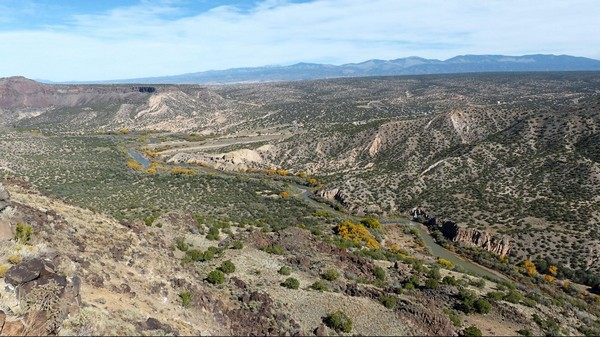 White Rock Overlook Bandelier National Monument