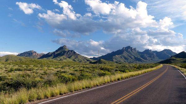 Chisos Basin Road Big Bend