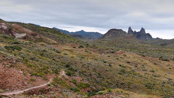 Mule Ears Spring Trail Big Bend