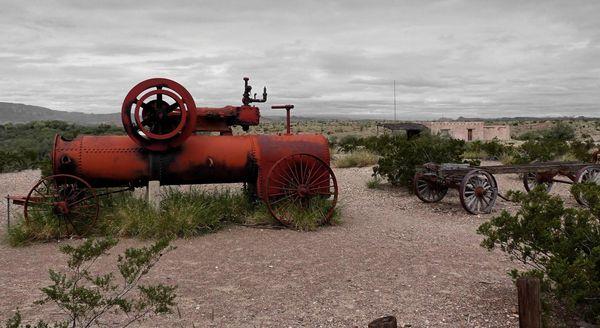 Ancienne machine agricole Castolon Historic District Big Bend