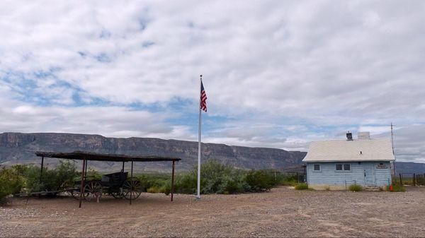 Ranger station Castolon Historic District Big Bend