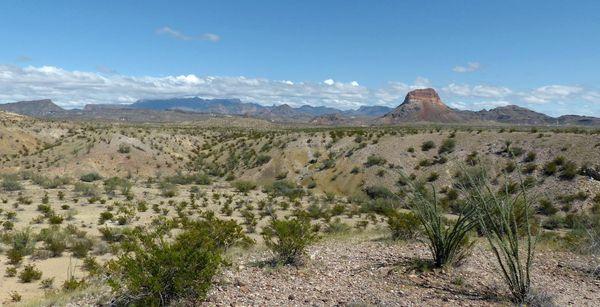 Desert Mountain Overlook Big Bend