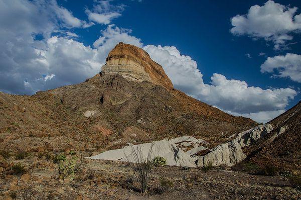 Castolon Peak Big Bend