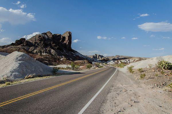 Cerro Castallan Big Bend NP