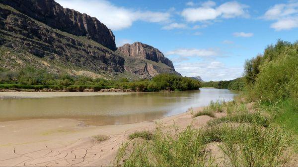 Santa Elena River Big Bend NP