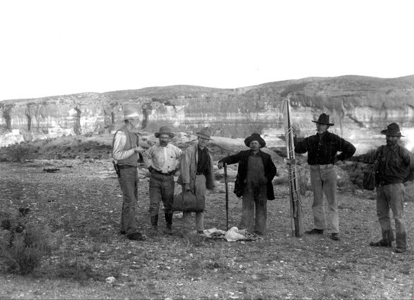 Expédition de Robert T. Hill à Langtry, le 28 octobre 1899