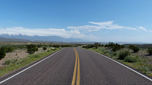Route vers Río Grande Village