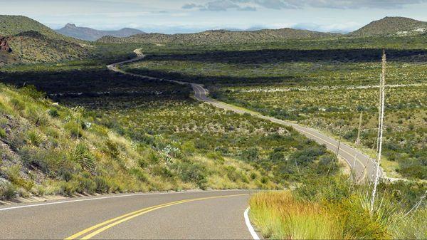 Ross Maxwell Scenic Drive Big Bend