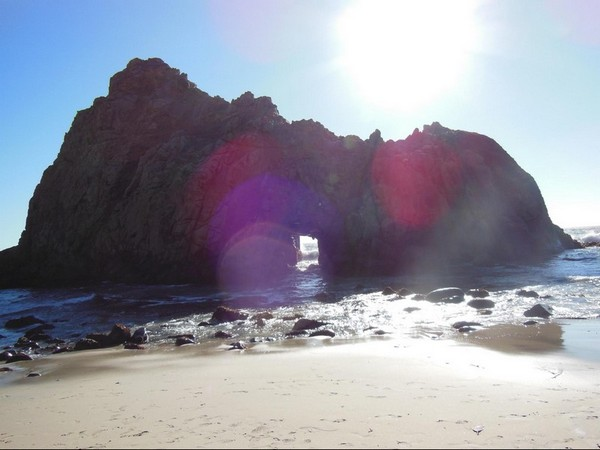 Arche naturelle de Pfeiffer Beach