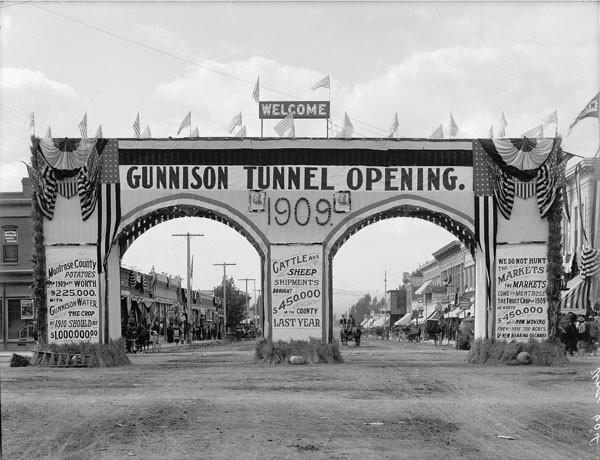 Gunnison Tunnel Opening 1909