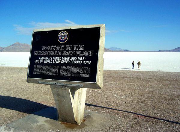 Salt Flat Rest Area Westbound