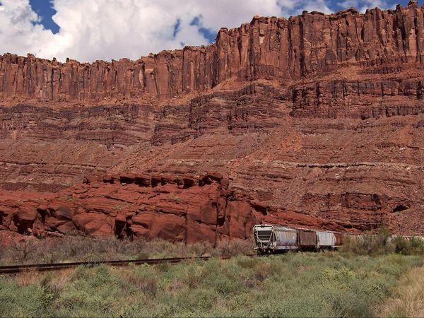 Le long de la route 279 Utah