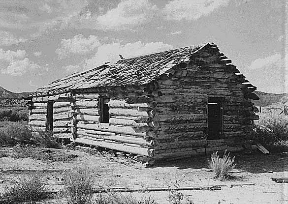 Maison de Ebenezer et Mary Bryce aux alentours de 1881