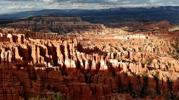 Inspiration Point au crépuscule Bryce Canyon NP