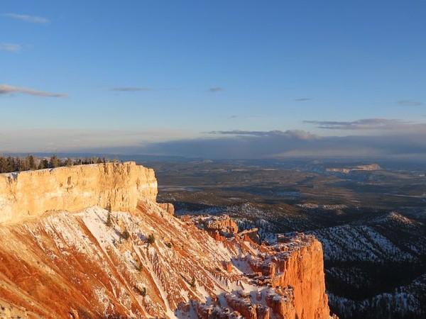 Yovimpa point enneigé Bryce Canyon NP