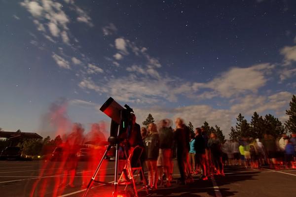 Programme d'astronomie Bryce Canyon NP