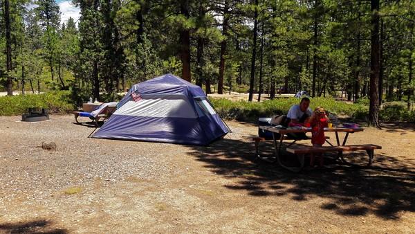 Camping à Bryce Canyon