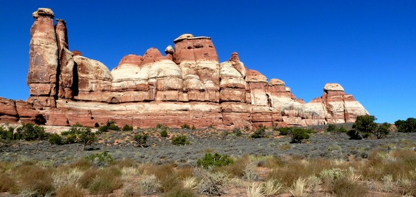 The Needles : Chesler Park Trail Canyonlands