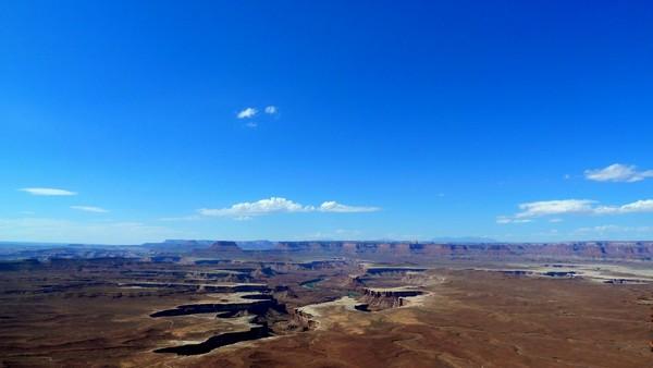 Island in the Sky : Green River Overlook Canyonlands
