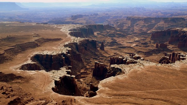 White Rim Overlook Canyonlands