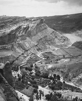 L'oasis de Fruita en 1931