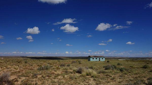 Paysage de la CR 7950 Nouveau-Mexique