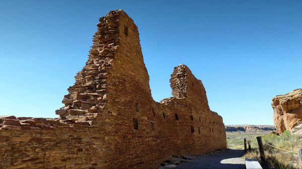 Mur à Hungo Pavi Chaco Culture NHP