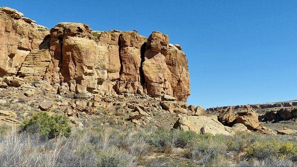 Escalier préhistorique Hungo Pavi Chaco Culture NHP