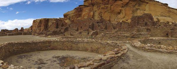 Kivas Pueblo Bonito Chaco Culture
