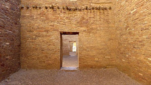 Enfilade de portes Pueblo Bonito Chaco Culture NHP