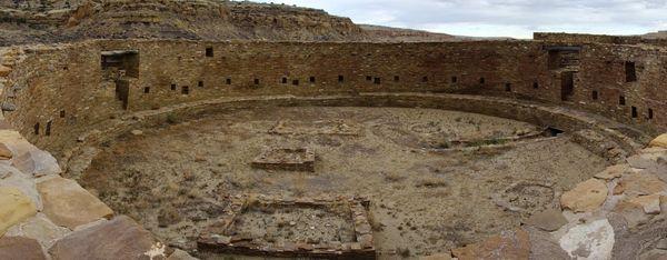 Kiva de Casa Rinconada Chaco Culture NHP
