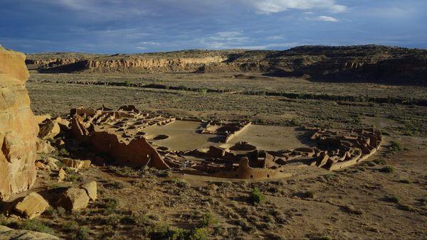 Pueblo Bonito Overlook Chaco Culture NHP