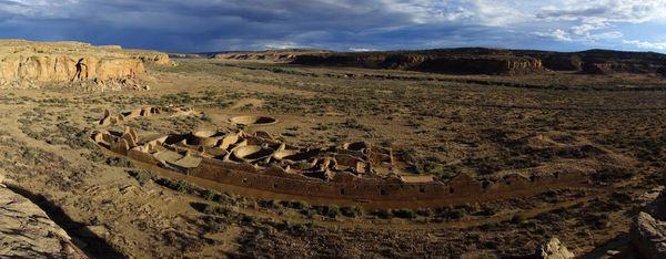 Chetro Ketl Overlook Chaco Culture NHP