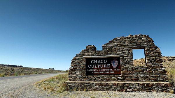 Entrée Chaco Culture National Historical Park