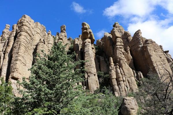 Bonita Caynon Scenic Drive Chiricahua National Monument